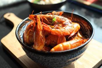 3.洋葱红酒烩虾三只松鼠猪肉脯210g多少钱图片