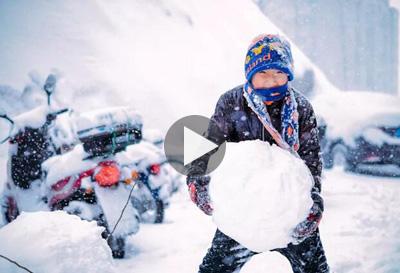 东北人亲传的玩雪秘籍!