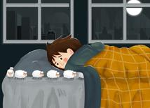 自己动手按好失眠便秘