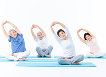 中老年健体瑜伽
